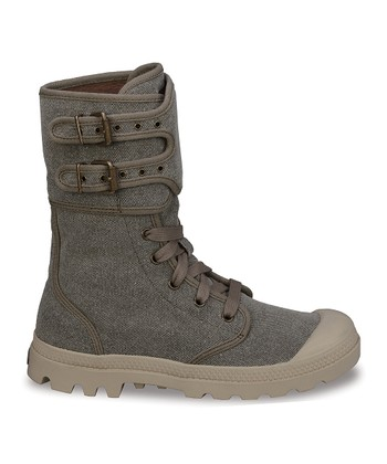 Dark Tan Pampa Peloton Canvas Boot