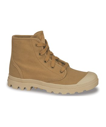 Mustard Pampa Hi Canvas Boot
