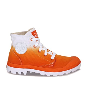 Orange Fade Blanc Hi Boot