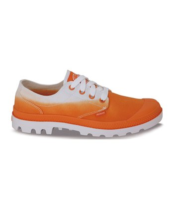 Orange Fade Blanc Ox Shoe