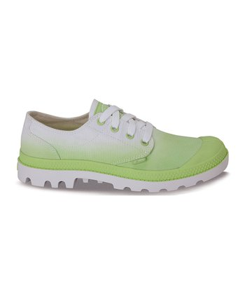 Sharp Green Fade Blanc Ox Shoe