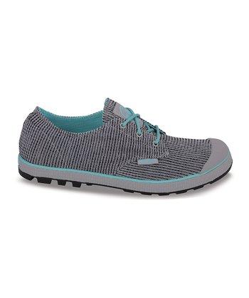 Palladium Dove & Pool Blue Slim Oxford II Sneaker