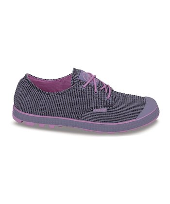 Purple & Gray Slim Oxford II Sneaker