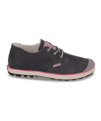 Moon Rock & Hot Pink Slim Oxford Sneaker