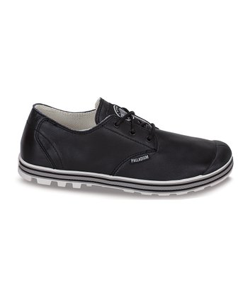 Black & Moon Rock Slim Oxford Sneaker