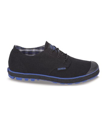 Black & Surf Slim Oxford Sneaker