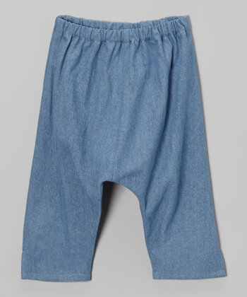 Denim Ninja Pants - Toddler