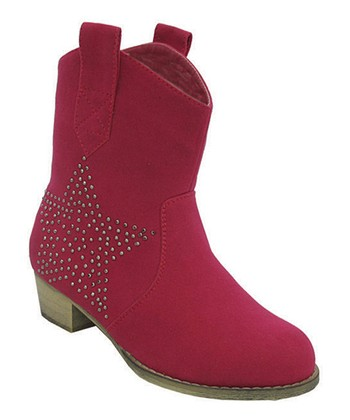 Fuchsia Star Fabulous Cowboy Boot