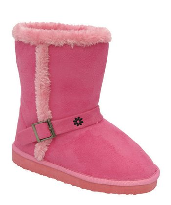 Fuchsia Faux Fur Gaia Boot