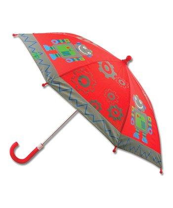 Red Robot Umbrella