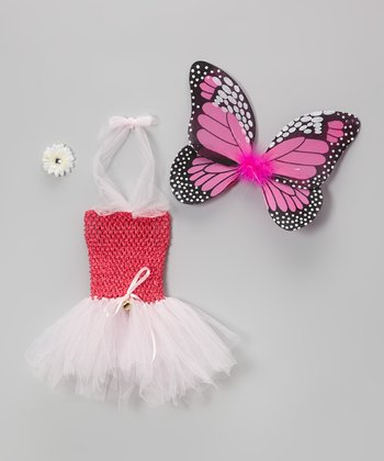 Fuchsia Tutu Dress Set - Infant & Toddler