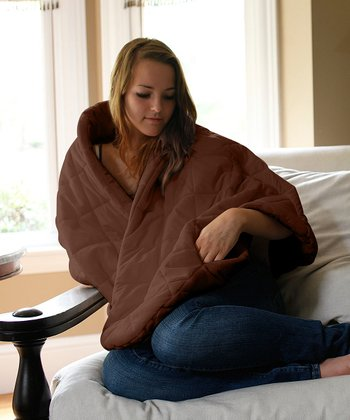Brown Snuggle Lounge Wrap