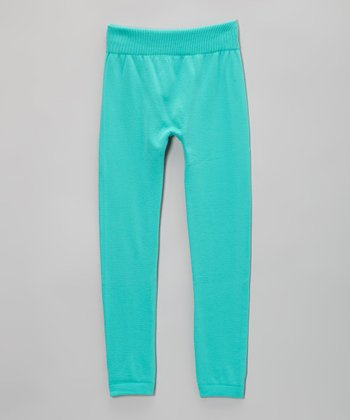 Mint Fleece Leggings