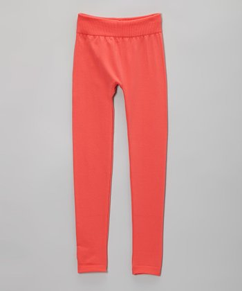 Coral Fleece Leggings