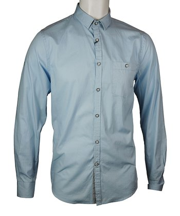Crystal Blue Charles Button-Up - Men & Plus