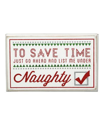'To Save Time' Box Sign