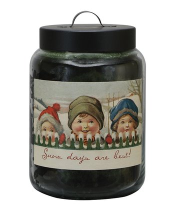 Fir Snow Days Jar Candle