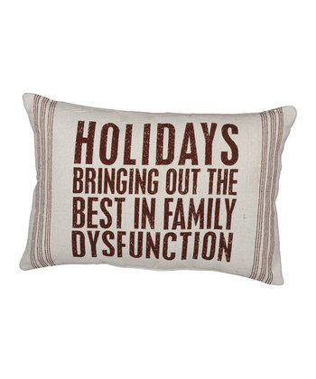 'Family Dysfunction' Throw Pillow
