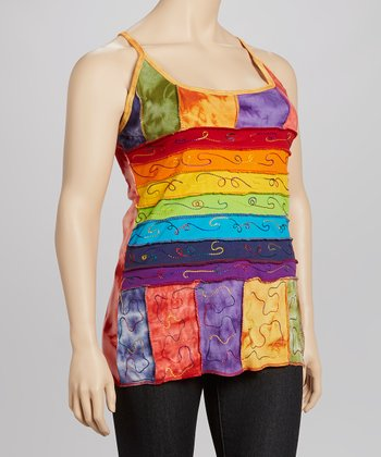 Rainbow Stripe Tank - Women & Plus