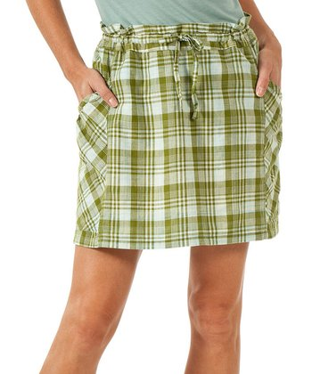 Bright Olive Dizzie Organic Skirt - Women
