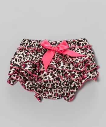 Hot Pink Leopard Bloomers - Infant & Toddler