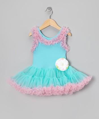 Cotton Candy Ruffle Swing Dress - Infant, Toddler & Girls