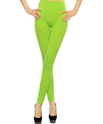 Lime Seamless Leggings