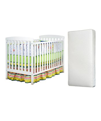 AFG baby furniture White Leila Convertible Crib & Mattress