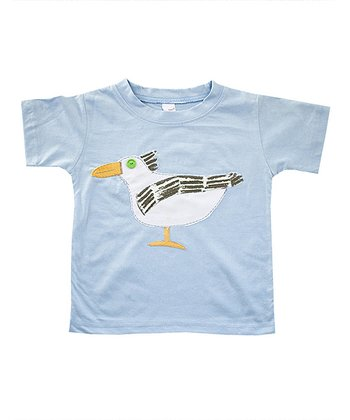 Light Blue Seagull Tee - Infant & Boys