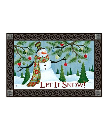 'Let It Snow' MatMate Doormat