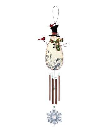 Vintage Snowman Wind Chime