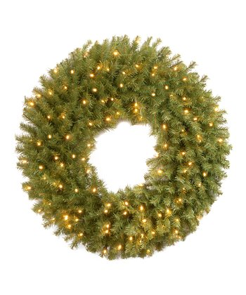 Norwood Fir Pre-Lit Wreath