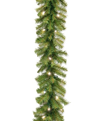 9' Norwood Fir Pre-Lit Garland