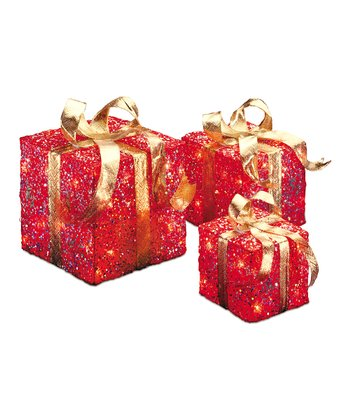 Red Sisal Gift Box Set