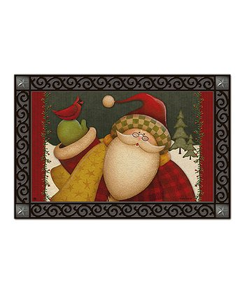 Lodge Santa Doormat