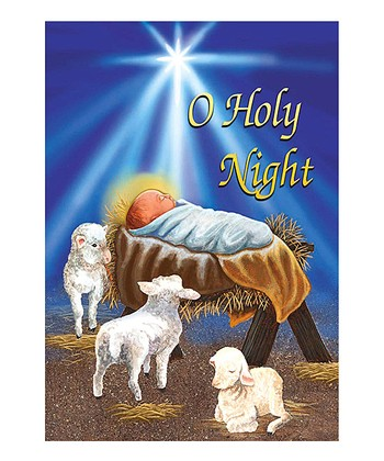 'O Holy Night' Garden Flag