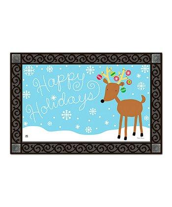 Reindeer Cheer MatMates Doormat