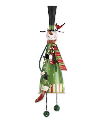 Jingle Snowman Door Greeter