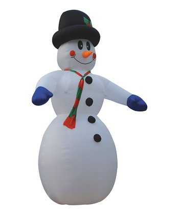 Snowman Inflatable Lawn Decoration