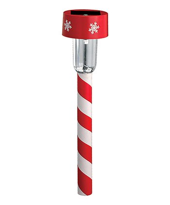 Candy Stripe Path Light - Set of Eight