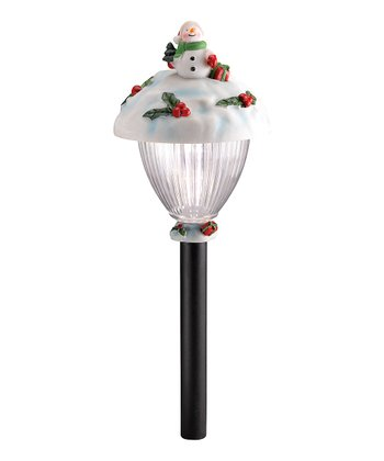 Jolly Snowman Path Light - Set of Two