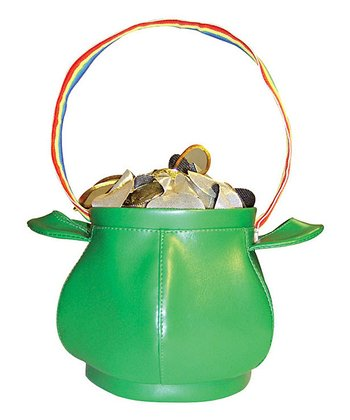 Green Pot of Gold Purse