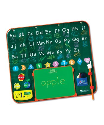 ABC Chalk Talk! Electronic Learning Chalkboard Set