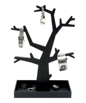 Black Dress-Up Jewelry Tree