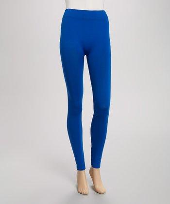 Blue Seamless Leggings