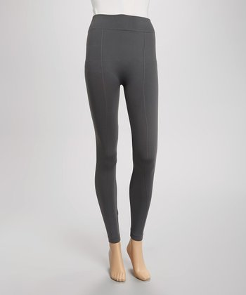 Charcoal Gray Seamless Leggings