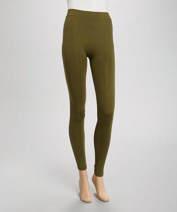 Olive Seamless Leggings