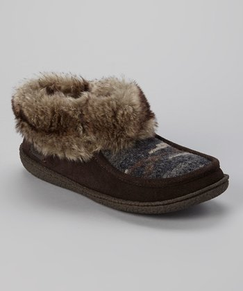 Brown Autumn Ridge Slipper - Women