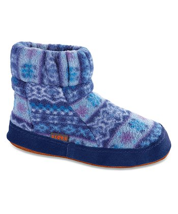 Blue Icelandic Kadabra Boot Slipper - Kids