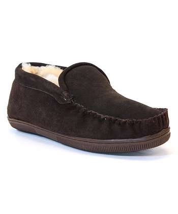 Chocolate Brown Trapper Slipper - Men